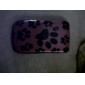 мило назад следы дело и бампер рамки для BlackBerry 8520/9300 (красный)