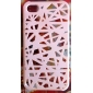 Unique Mesh Protective Case for iPhone 4(White)
