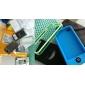 Diable étui de protection gel de silice pour iphone4 - noir