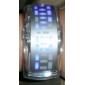Unisex Futuristic Blue LED Digital White Band Bracelet Watch Cool Watches Unique Watches Fashion Watch