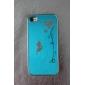 élégante cas motif de style papillon dur pour iphone 4 et 4s (couleurs assorties)