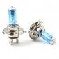H4 5000K 60/55W Halogen Headlight White Light Bulbs (DC 12V/Pair)