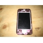 Protective Smooth Polycarbonate Front and Back Case for iPhone 4 and iPhone 4S (Purple Heart)