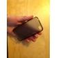 caixa transparente protetora para iphone4 (preto)