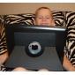 아이 패드 3를위한 대를 가진 방어 360도 돌릴수있는 자동 잠 케이스