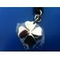 eruner®four feuilles de trèfle modèle en cuir de bracelet tissé (noir)