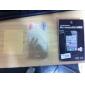 iPhone 4用 クリアなスクリーンプロテクターフィルム(3枚)