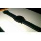 Hommes Montre Bracelet Numérique LED Calendrier Silikon Bande Noir