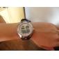мужские силиконовые аналого-цифровой двойной движений руки часы (разных цветов)