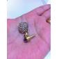 Heart Shaped Diamond Design Anti-Dust Earphone Jack Plug for iPad and iPhone (Assorted Colors)