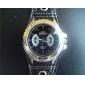 男性用 PUベルト クォーツ腕時計