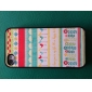 Etui Rigide Motif Chic pour iPhone 4/4S - Multicolore