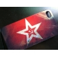 Retro Style Star Flag Pattern Hard Case for iPhone 4 and 4S