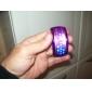 Bracelet Design Future Blue LED Wrist Watch - Purple Cool Watches Unique Watches