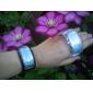 Montres Numériques LED Bleues pour Couple (Noire & Blanche, 1 Paire)