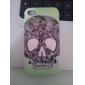 아이폰 4와 4S (멀티 컬러)의 두개골 헤드 패턴 하드 케이스