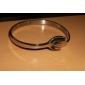 Eruner®Hand in Hand Pattern Titanium Steel Bracelet (Silver)