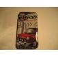 Защитный ретро чехол для iPhone 4 и 4S (Лондон и автомобиль)