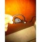독특한 디자인 클립 - 온 아이폰 4, 4S와 휴대 전화를위한 블루투스 v2.1 스테레오 헤드셋 - 8015 (블랙)