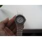 여성용 패션 시계 손목 시계 캐쥬얼 시계 석영 캐쥬얼 시계 모조 다이아몬드 실리콘 밴드 스파클 블랙 화이트 블루 그린 핑크