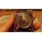 Unisex PU Analog Quartz Wrist Watch (Brown) Cool Watch Unique Watch