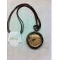 Vintage Collier rond de montre de poche de palais