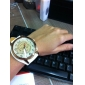 Женские Модные часы Кварцевый PU Группа Черный Белый Красный Коричневый