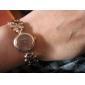 Femme Bracelet de Montre Quartz Bande Elégantes Bronze Or Rose