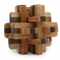 매직 큐브 나무 퍼즐 두뇌 발달 장난감 장난감 전문가 수준 속도 남아 여아 12 조각