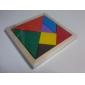 Китайская геометрическая головоломка Пазлы Деревянные пазлы Обучающая игрушка Цветной Дерево Рождество День рождения День детей