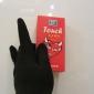 paire de gants tactiles pour iPhone et iPad (noir)
