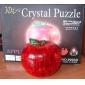 Puzzles Puzzles 3D Puzzles en Cristal Blocs de Construction Jouets DIY  pomme