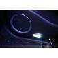 Светодиодные лампы для сигнальных ламп автомобиля, T10 белый свет (2-шт., DC 12V)