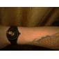SHENHUA Мужской Наручные часы Механические часы С гравировкой С автоподзаводом Нержавеющая сталь Группа Черный
