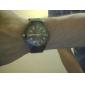 Мужской Армейские часы Кварцевый Нейлон Группа Черный Белый