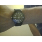Unisex's Fabric Analog Quartz Wrist Watch (Black) Cool Watch Unique Watch Fashion Watch