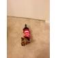 개 드레스 레드 강아지 의류 여름 모든계절/가을 문자와 숫자 스포츠