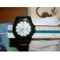 Unisex Classic Casual Style Plastic Analog Quartz Wrist Watch with Calendar (Assorted Colors) Cool Watches Unique Watches