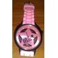 Orologio al quarzo, da donna, con cinturino in silicone - Rosa