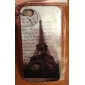 Eiffel Pattern Hard Case for iPhone 4/4S