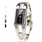 Women's Watch Fashionable Rectangle Case Silver Alloy Bracelet Cool Watches Unique Watches Strap Watch
