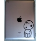 Boy Pattern Protective Sticker for The New iPad and iPad 2 iPad Skin Stickers