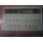 novo mini magro cartão de crédito calculadora de bolso de energia solar - verde do exército