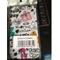 아이폰4용 유색 플라워패턴의 하드 보호케이스