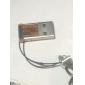 Mini Keychain USB 2.0 TF MicroSD Card Reader (Orange)