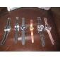 unisexe montre-bracelet en caoutchouc analogique quartz (couleur aléatoire)