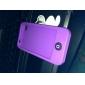 Case em Silicone para iPhone 4 (Púrpura)