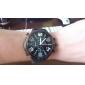 V6 Муж. Армейские часы Наручные часы Кварцевый Японский кварц силиконовый Группа Черный