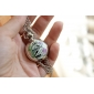 Women's Alloy Analog Quartz Necklace Watches with Bird (Silver) Cool Watches Unique Watches