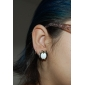 Lureme®Owl Gilted Earrings (Assorted Colors)